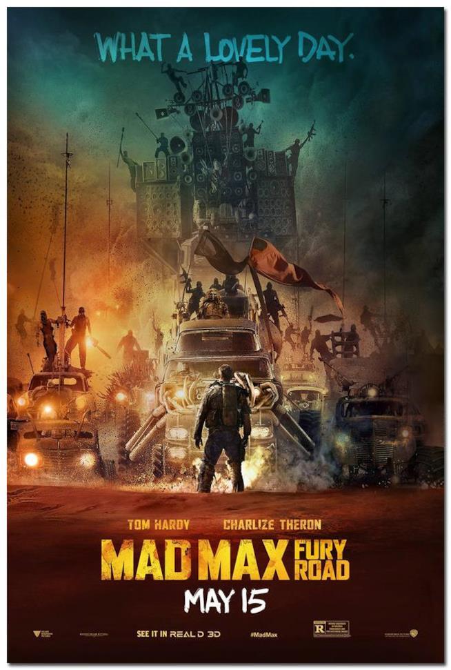 Poster di Mad Max: Fury Road