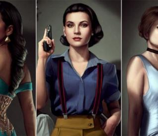 Le Principesse Disney in versione film noir [GALLERY]