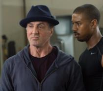 Sylvester Stallone e Michael B. Jordan