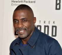 Un sorridente Idris Elba alla presentazione di Star Trek Beyond