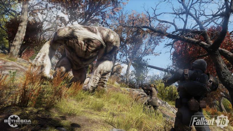 Fallout 76 in un'immagine di gioco