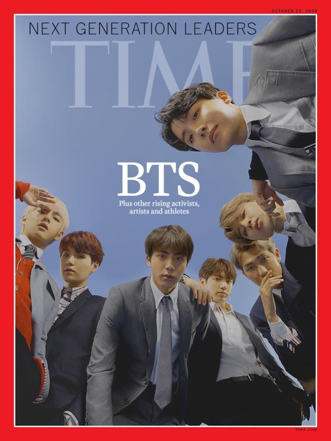 Secondo TIME, i BTS sono i leader del futuro