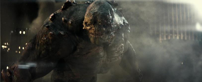 Mezzobusto di Doomsday creato in CGI sulle movenze di Robin Atkin Downes
