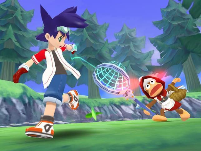 Un'immagine di gioco da Ape Escape 3