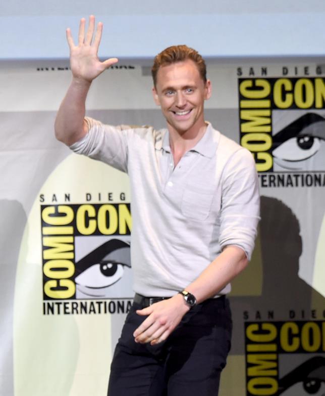 Tom Hiddleston al Comic-Con