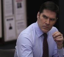 L'attore Thomas Gibson nel ruolo di Hotch in Criminal Minds