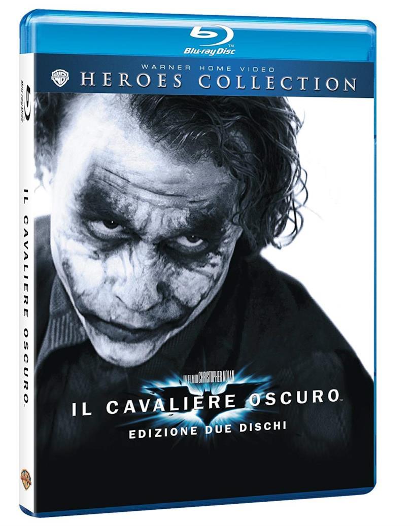 Il cavaliere oscuro in Blu-Ray su Amazon