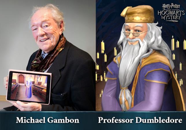 Gli attori dei film tornano per Harry Potter: Hogwarts Mystery