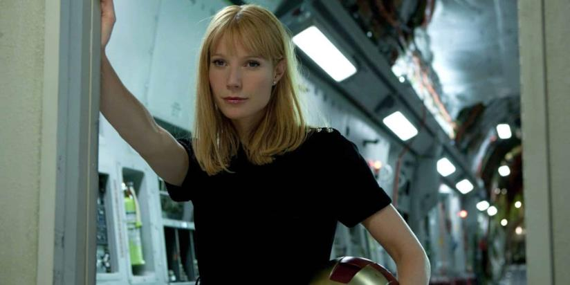 Gwyneth Paltrow in una scena di Iron Man