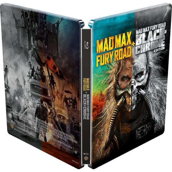 Steelbook di Mad Max: Fury Road in Blu-ray