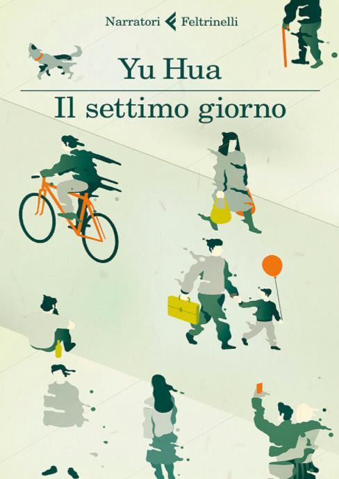 La copertina illustrata dell'edizione italiana di Il Settimo Giorno