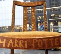 Harry Potter, la sedia di J.K. Rowling