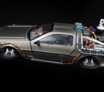 La leggendaria DeLorean di Ritorno al Futuro