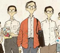 La cover del fumetto di Sonny Liew