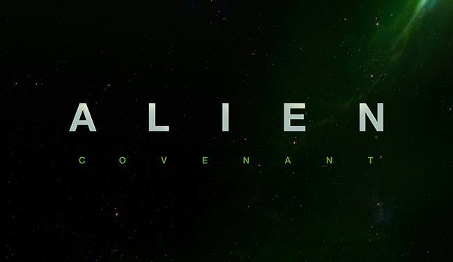 Logo del film Alien: Covenant