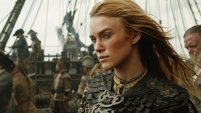 Keira Knightley in Pirati dei Caraibi