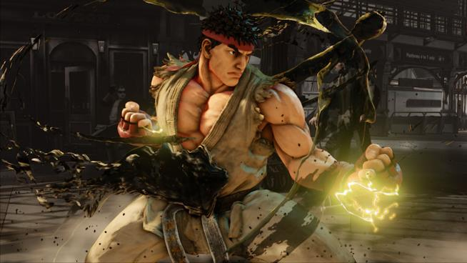 Ryu in Street Fighter 5