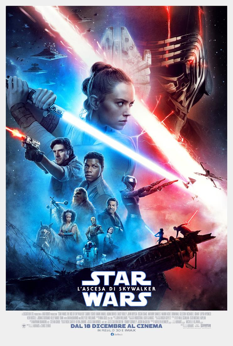 Il poster di Star Wars: The Rise of Skywalker