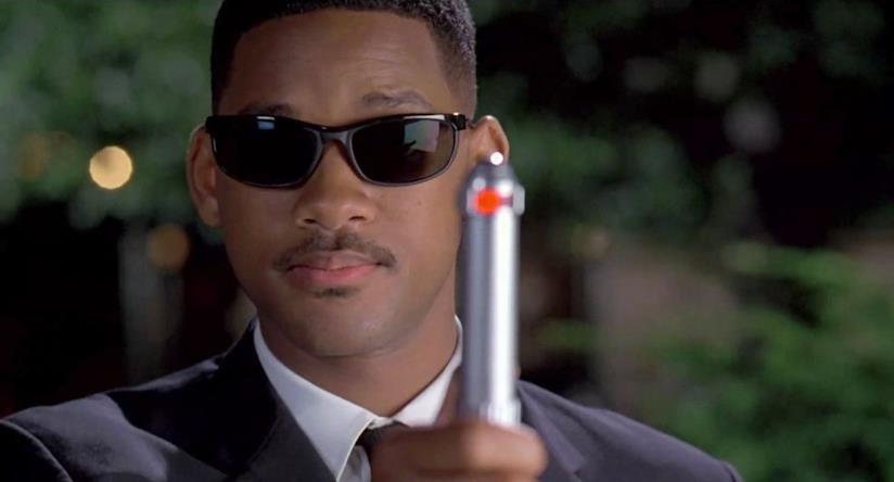 Will Smith in una scena di Men in Black