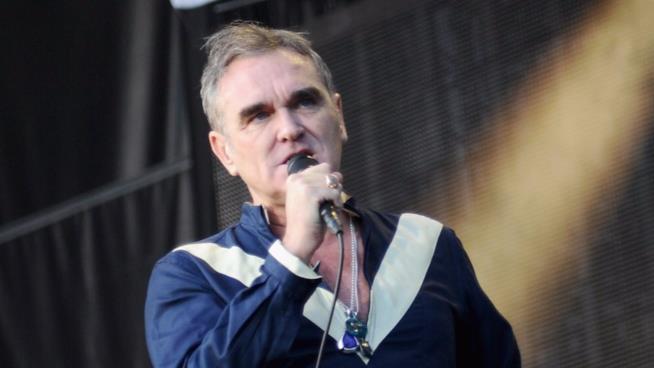 Il cantautore Morrissey