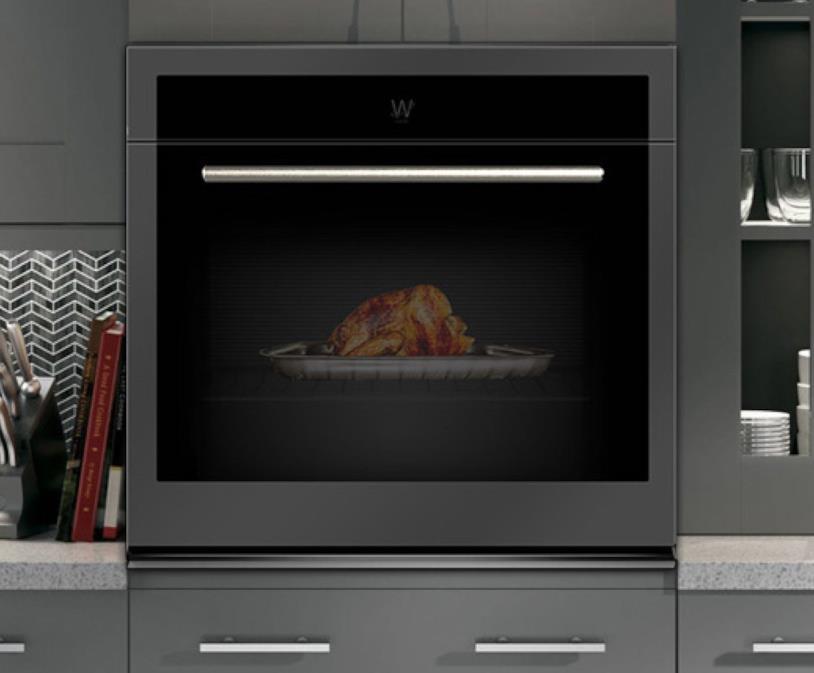 Immagine del concept del forno con realtà aumentata di Whirlpool