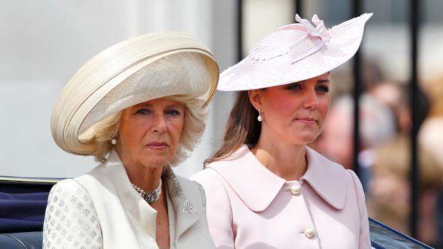 Camilla, duchessa di Cornovaglia, e Kate, duchessa di Cambridge
