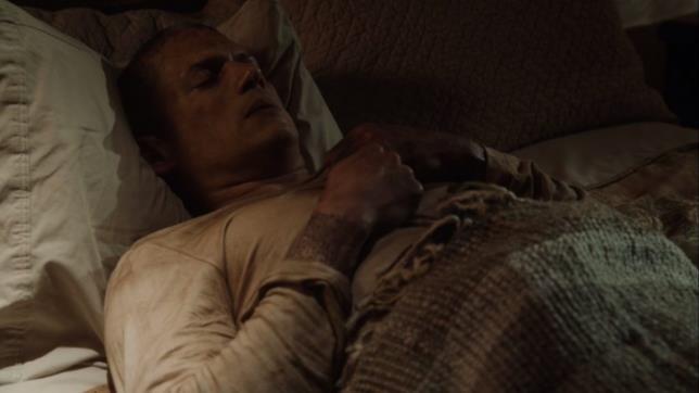 Prison Break 5, Michael Scofield in brutte condizioni