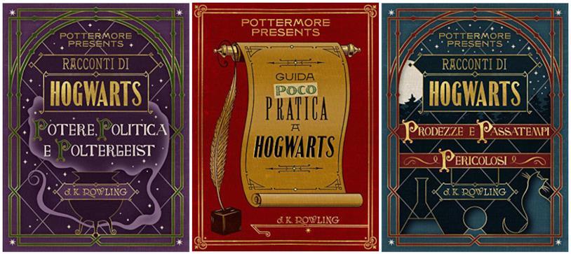 L'edizione italiana di Pottermore Presents