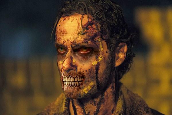 Un'immagine di Rick Grimes in The Walking Dead