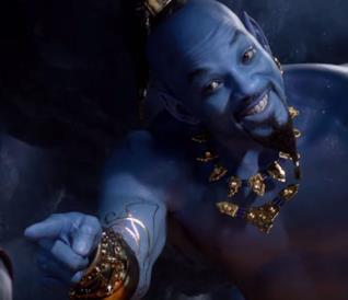 Aladdin: il trailer del remake Disney fa uscire il Genio dalla lampada