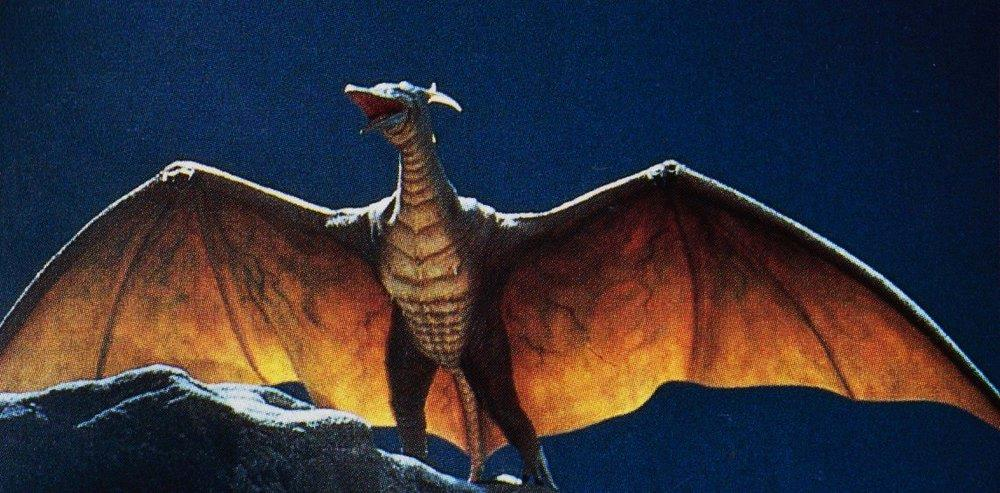 Rodan, il gigantesco pteranodonte di Godzilla