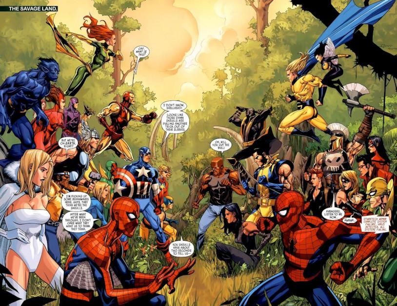 Secret Invasion Marvel