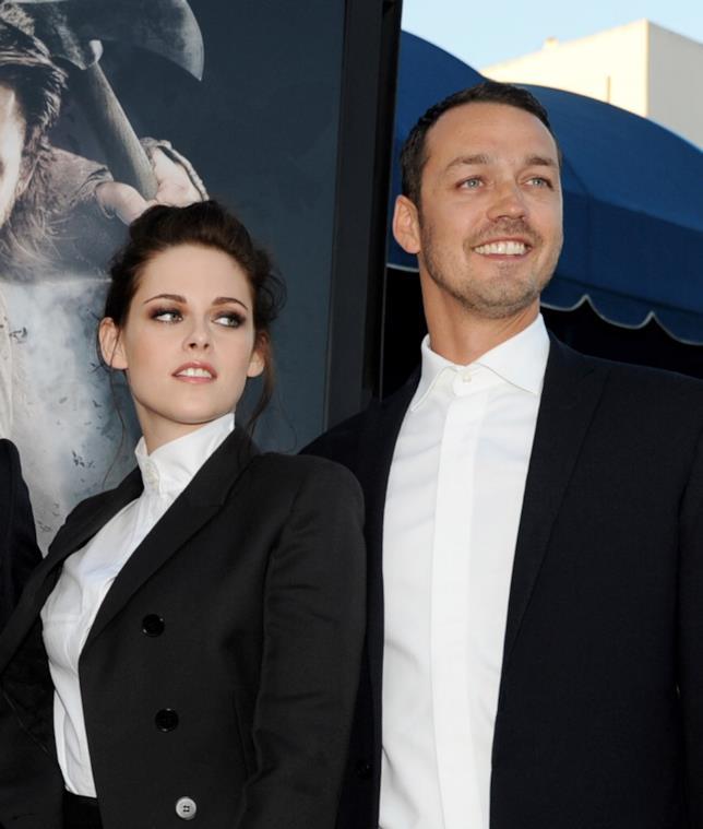 Kristen Stewart con il regista Rupert Sanders