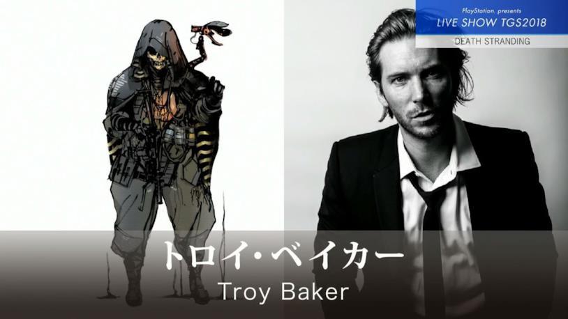 Troy Baker nei panni di uno dei protagonisti di Death Stranding