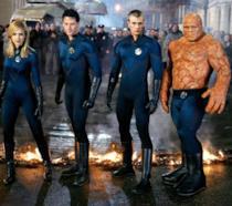 Il gruppo dei Fantastici Quattro al completo