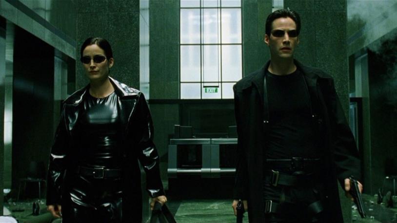 Una scena del primo Matrix