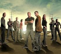 Un'immagine promozionale di Prison Break con il cast