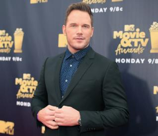 Chris Pratt sul red carpet