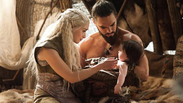 Daenerys e Drogo e il figlio mai nato