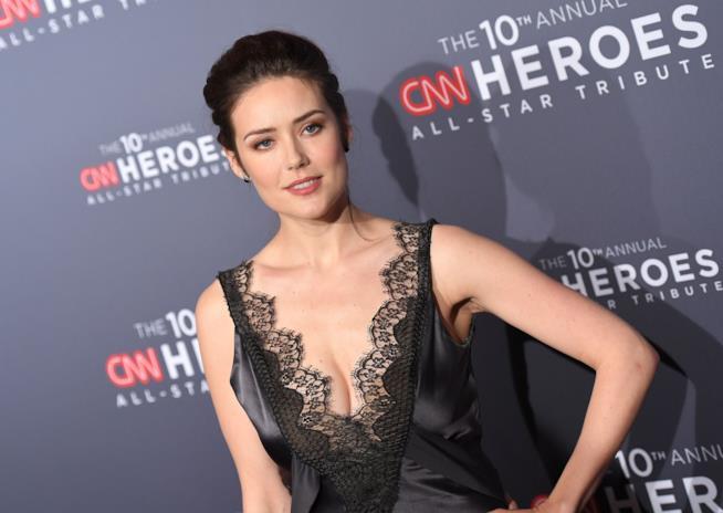 Megan Boone durante i CNN Heroes del 2016
