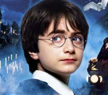 Daniel Radcliffe nei panni di Harry Potter