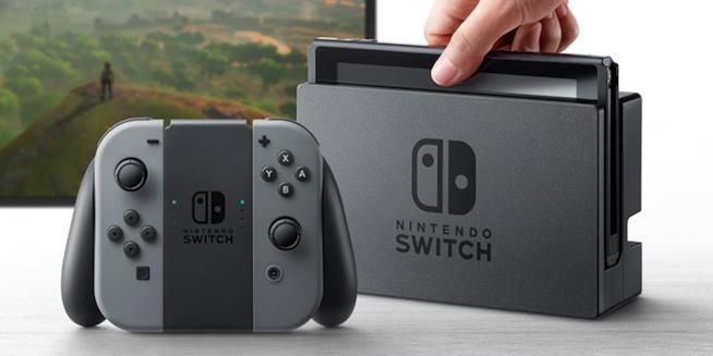 Nintendo Switch nei negozi a marzo 2017
