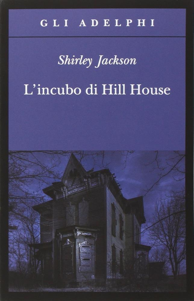 La copertina di L' incubo di Hill House