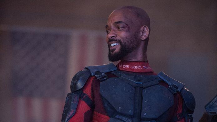 Will Smith nei panni di Deadshot nel film Suicide Squad