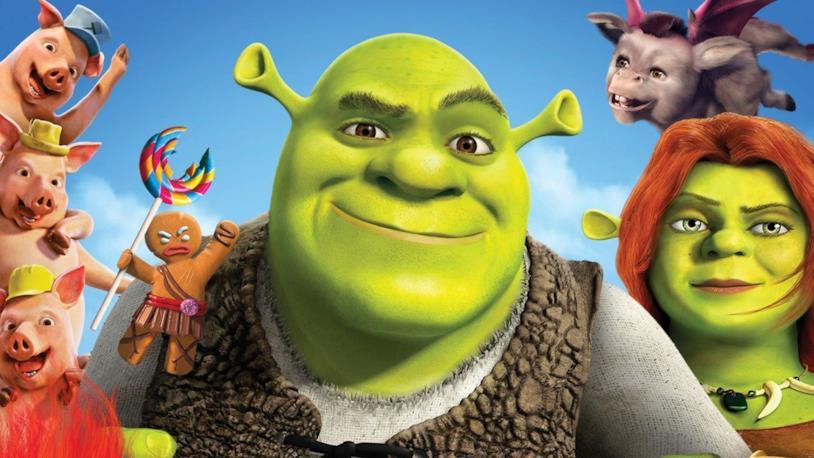 I protagonisti del quarto capitolo di Shrek