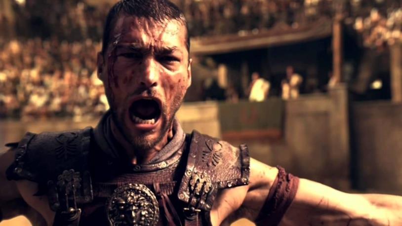 Andy Whitfield è Spartacus nella prima stagione
