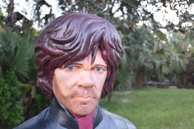 Il primo piano di Tyrion realizzato da Jeff Christianson