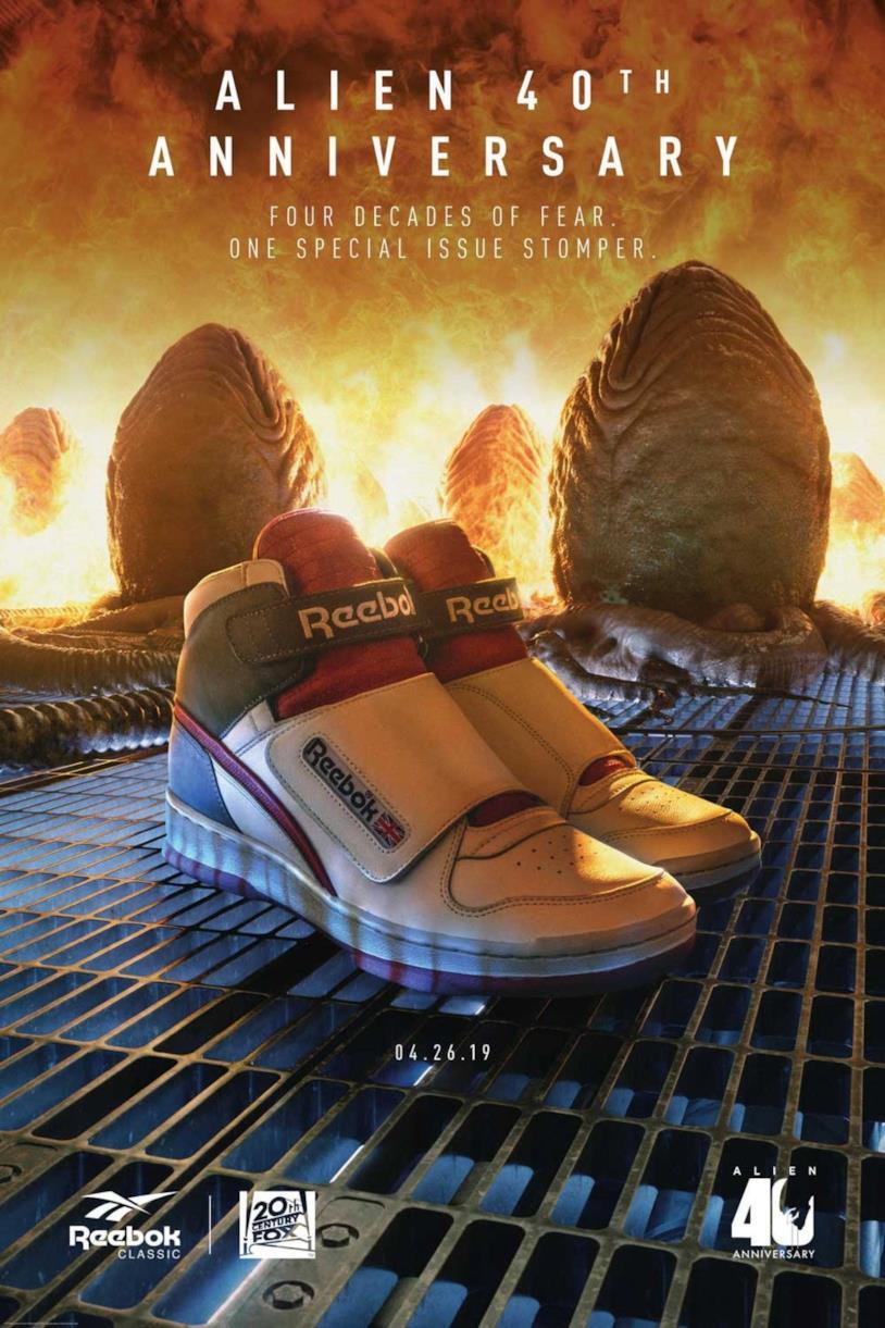 Le Alien Stomper, scarpe riproposte per l'Alien Day 2019