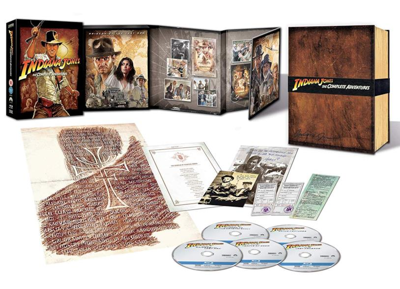 Indiana Jones: The Complete Adventure – Collector's edition in formato Blu-ray