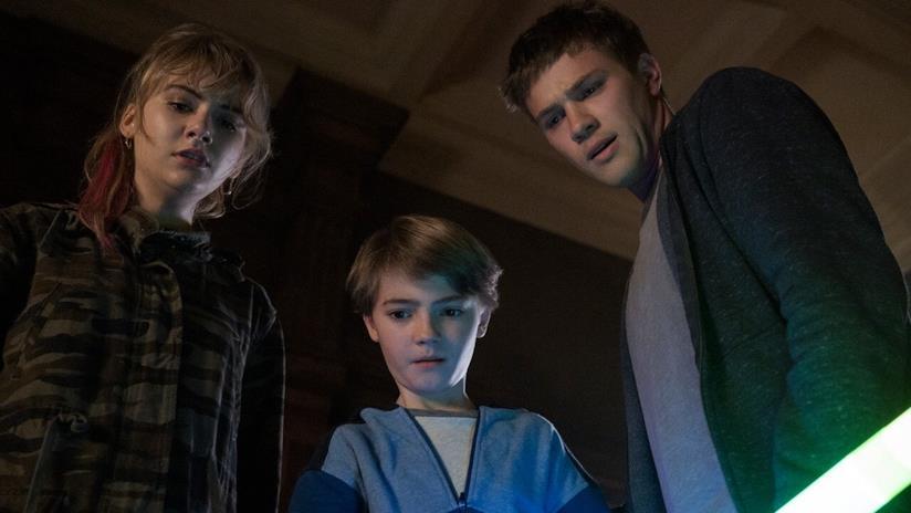 I tre giovani protagonisti della serie TV Locke and Key